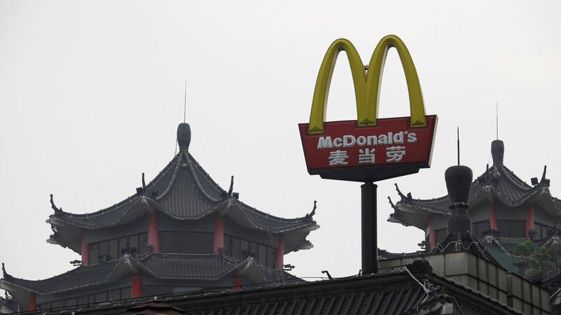 Wegen Corona-Virus: McDonald's schließt Restaurants in fünf chinesischen Städten