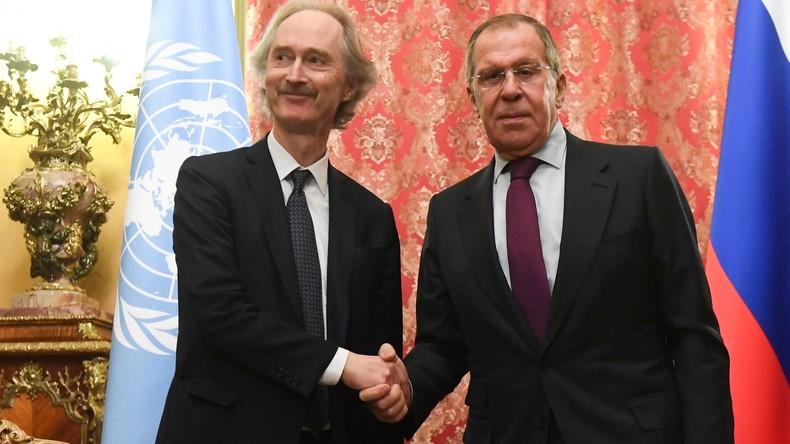 """Lawrow: Lage in Syrien verbessert sich – von """"Terroristen"""" kontrolliertes Territorium schrumpft"""