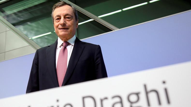"""""""Was für eine Schande"""": Kritik an Bundesverdienstkreuz-Verleihung für ehemaligen EZB-Chef Draghi"""