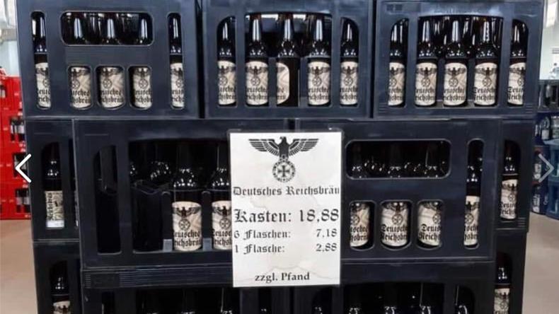 """""""Deutsches Reichsbräu"""": Staatsschutz ermittelt wegen Bier mit Nazi-Symbolik für 18,88 Euro"""