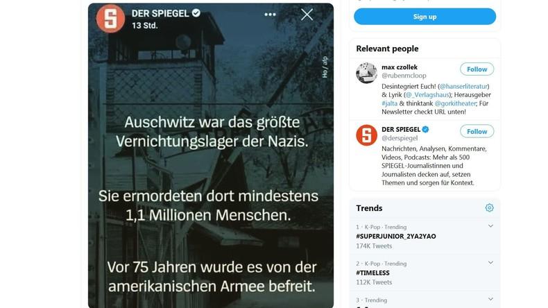 """Als die Amerikaner Auschwitz befreit haben: Spiegel-Fauxpas nur ein """"peinlicher Fehler""""?"""