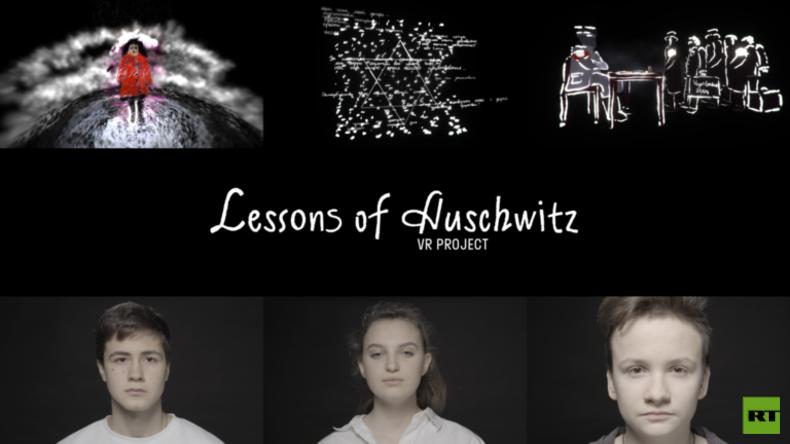 """""""Lehren aus Auschwitz"""": Moskauer Schüler schaffen VR-Animation zum Gedenken an Holocaust-Opfer"""