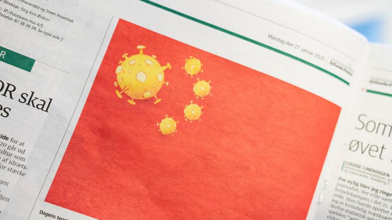Dänische Zeitung setzt Coronavirus auf Flagge Chinas – Peking fordert Entschuldigung