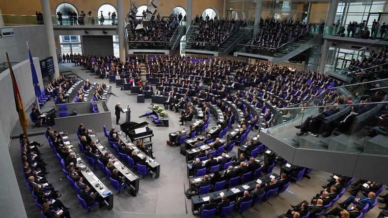 LIVE: 142. Sitzung des Deutschen Bundestages - Befragung der Bundesregierung