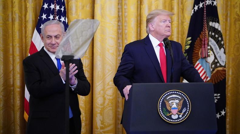 """Trumps """"Vision von Frieden"""" sieht keinen echten Staat Palästina vor"""