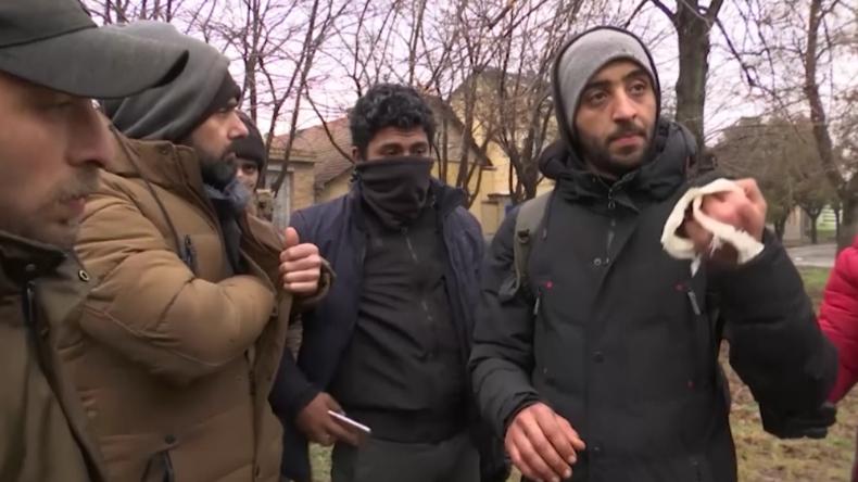 """Nach Warnschüssen auf Migranten an Ungarns Grenze: """"Die Polizisten haben uns geschlagen"""""""