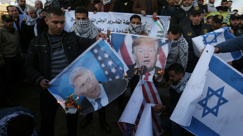 """""""Mehr Chaos und Spaltung in der Region"""": Trumps Nahost-Friedensplan stößt auf Skepsis (Video)"""