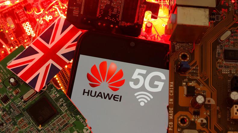 Trotz Gegenwind aus USA: Huawei wird an Ausbau von 5G-Netz in Großbritannien beteiligt (Video)