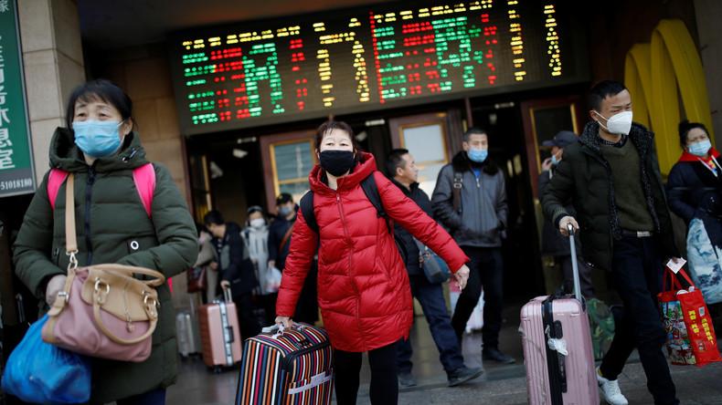 Gesichtserkennung unmöglich: Schutzmasken gegen Coronavirus erschweren Alltag in China