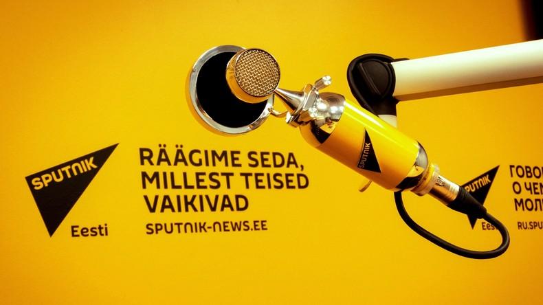 """""""Hundertprozentige Zensur"""": Russland informiert OSZE über Druck auf Journalisten in Estland"""