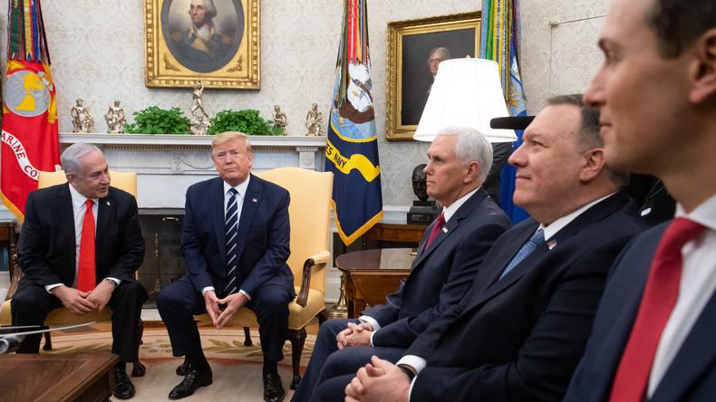 """""""Nein!"""" … """"Doch!"""" … """"Oh!"""" – Konfusion in Washington über Netanjahus Annexionspläne"""