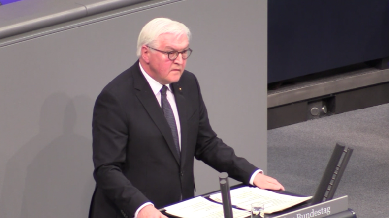 """Steinmeier: """"Die bösen Geister der Vergangenheit sind in neuem Gewand wieder da"""""""
