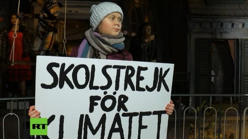 Hamburg feiert Greta-Klon: Erste Wachsfigur der Klimaaktivistin enthüllt (Video)