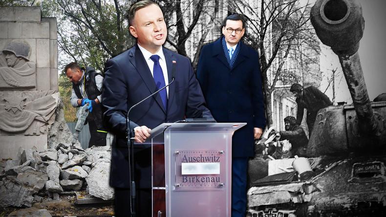 """""""Putins Geschichtslügen"""" – Polens Feldzug gegen den sowjetischen Sieg"""