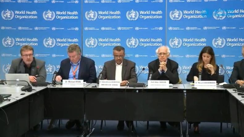 "WHO erklärt Coronavirus-Bedrohung zu ""internationalem Notfall"" und lobt China"