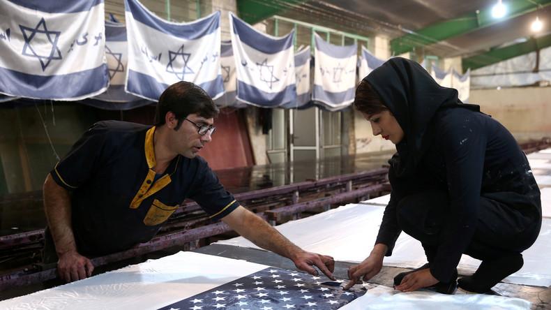 Boomendes Geschäft im Iran: Steigender Absatz von Flaggen für den brennenden Protest