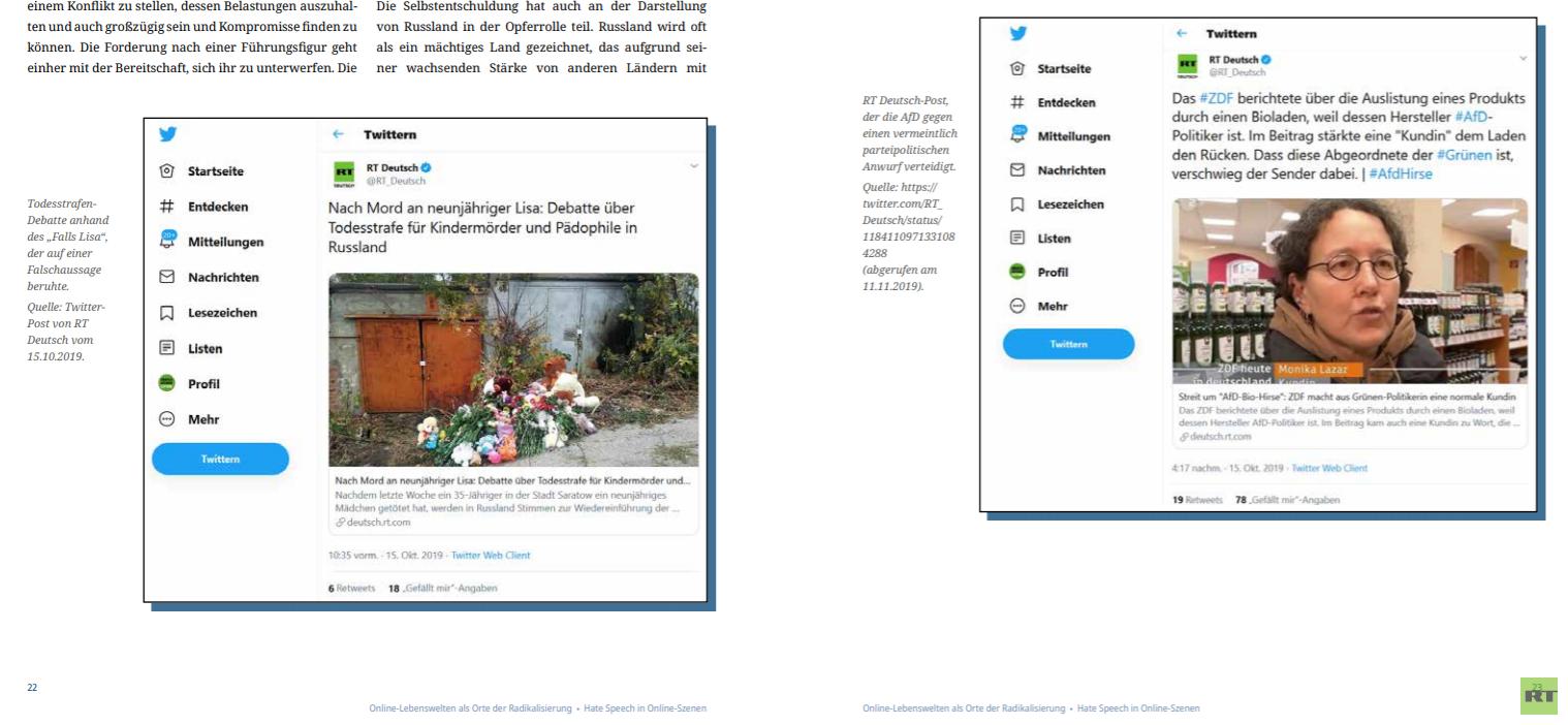 Lisa, Lisa, Hauptsache Lisa …. Fake-News gegen RT Deutsch werden immer bizarrer