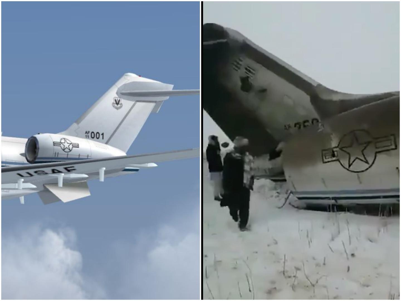 Spekulationen nach Flugzeugabsturz in Afghanistan: War es eine US-Spionagemaschine?
