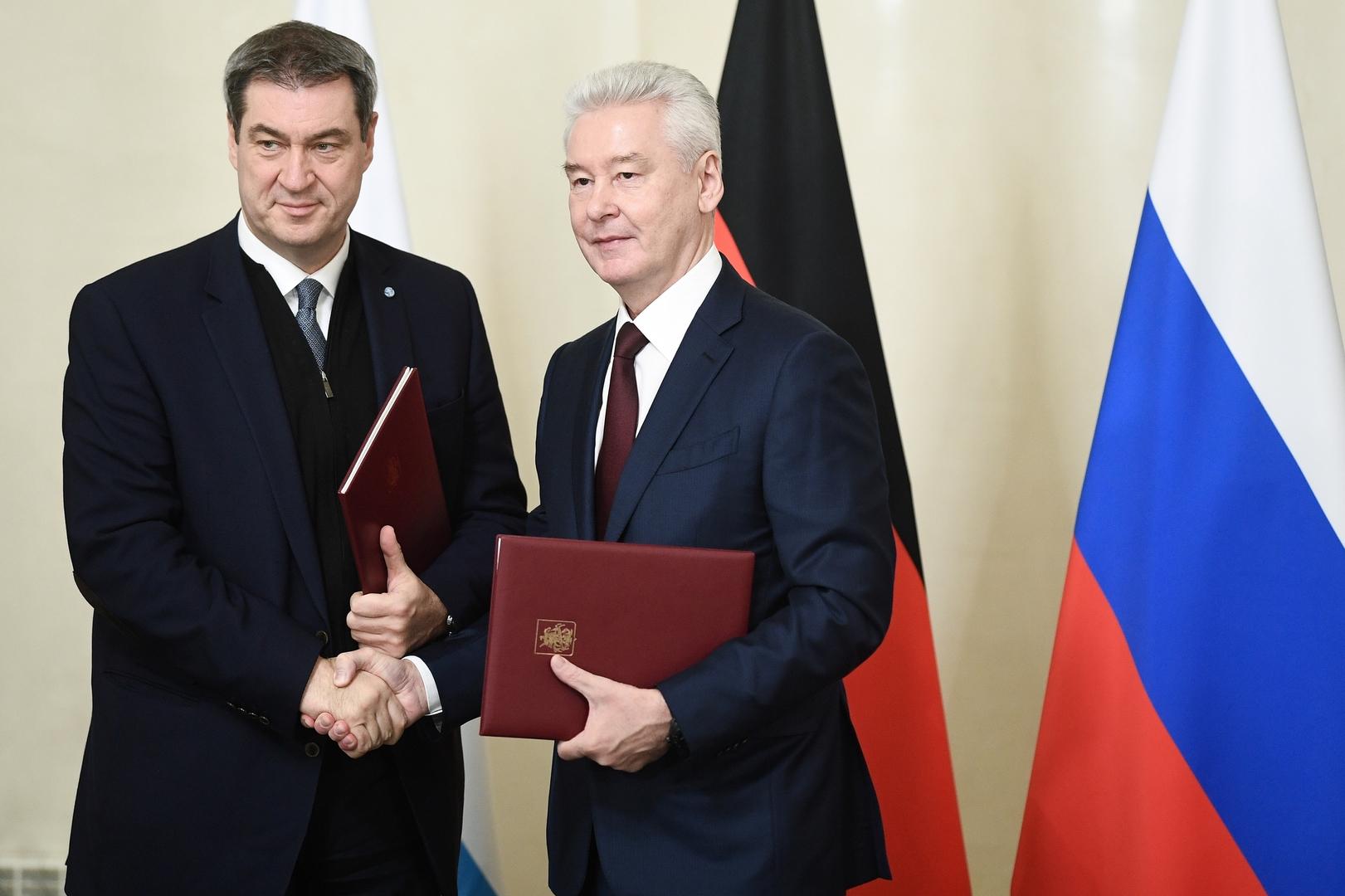Markus Söder besucht Moskau: Bayern und Russland bauen Zusammenarbeit  weiter aus