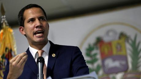 Der selbst ernannte Interimspräsident von Venezuela Juan Guaidó
