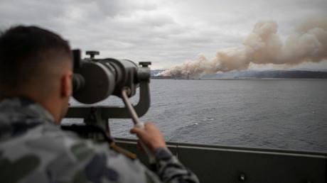 Rauchwolken von Buschbränden in Australien erreichen Chile und Argentinien (Symbolbild)
