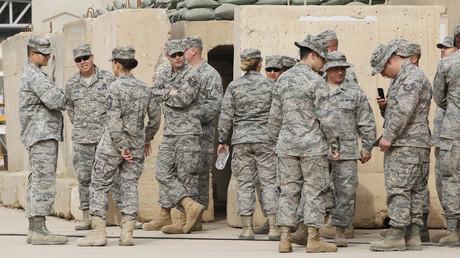 Rund 5.200 US-Soldaten befinden sich noch im Irak. Bild: US-Soldaten auf dem ehemaligen US-Luftwaffenstützpunkt Sather bei Bagdad
