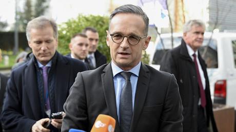 Bundesaußenminister Heiko Maas beim EU-Außenministertreffen in Brüssel am 7. Januar.