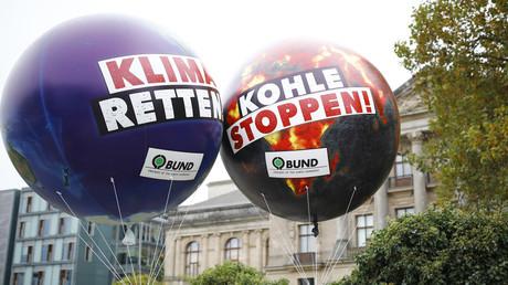 Symbolbild: Proteste für den Klimaausstieg, Berlin, Deutschland, 20. Oktober 2017.