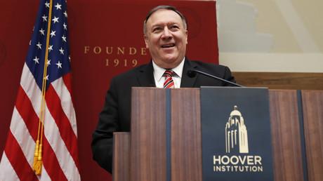 US-Außenminister Mike Pompeo erklärte am 13. Januar bei der Hoover Institution den Strategiewechsel im Weißen Haus.