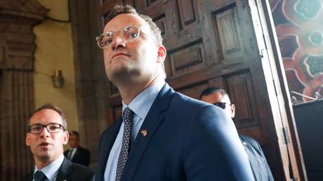 (Archivbild). Bundesgesundheitsminister Jens Spahn am 20. September 2019 in der Metropolitan-Kathedrale in Mexiko-Stadt, México.