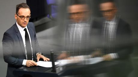 Bundesaußenminister Heiko Maas (SPD) am 15. Januar 2020 im Bundestag.