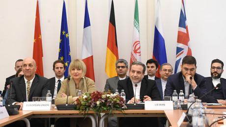 Treffen der JCPOA-Kommission mit der deutschen Diplomatin Helga Schmid, Wien, Österreich, 6. Dezember 2019.