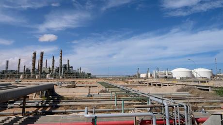 Das Öl- und Gasverarbeitungsunternehmen Ras Lanuf in Libyen