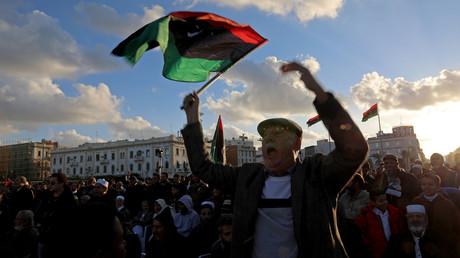 Proteste in Tripoli, Libyen, 27. Dezember 2019.