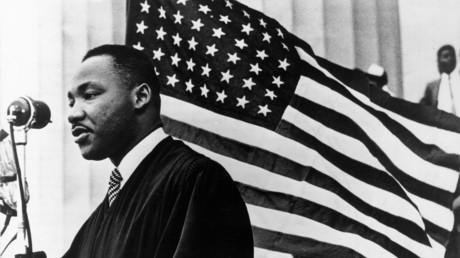 Martin Luther King Jr., Washington, D.C. am 1. Januar 1960