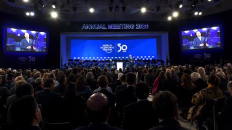 Geringes Vertrauen auch in sie: Eröffnung des diesjährigen Weltwirtschaftsforums mit den Eliten der Welt im schweizerischen Davos am Montag