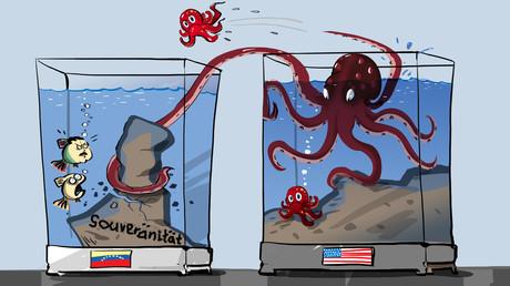 Sacharowa zu Pompeos Interview: US-Einmischung in innere Angelegenheiten anderer Länder zugegeben