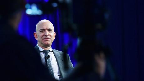 Amazon-Gründer Jeff Bezos, hier beim 70. Internationalen Astronauten-Kongresses am 22. Oktober 2019 in Washington D.C., soll Opfer eines Hacker-Angriffs geworden sein.