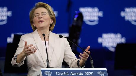 Schwärmen von der Zukunft: Ursula von der Leyen am Mittwoch in Davos
