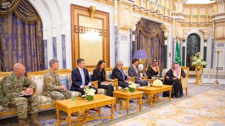 US-Militärkommissionn in Riad, Oktober 2019