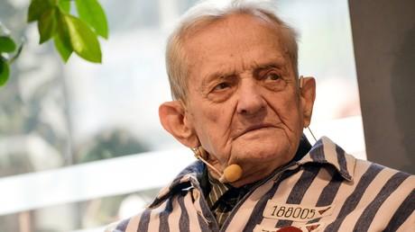 Aktivist unter KZ-Häftlingen: Igor Malizki ist heute Leiter des Regionalrats des antifaschistischen Widerstands im ukrainischen Charkow. Der 94-Jährige organisiert das Zusammenkommen ehemaliger KZ-Insassen.