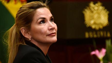 Strebt nach Höherem – Die selbsternannte Übergangspräsidentin Jeanine Áñez will nun selbst bei den kommenden Präsidentschaftswahlen in Bolivien kandidieren.