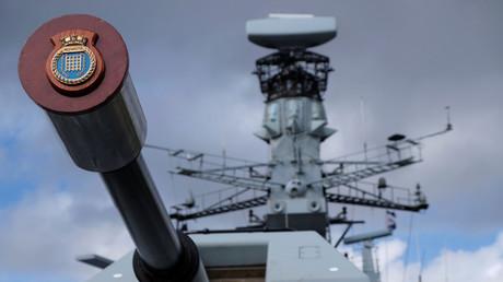 Manche Brexit-Befürworter träumen von einer Rückkehr Großbritanniens zur maritimen Weltmacht. Das Symbolbild zeigt die britische Fregatte HMS Westminster .