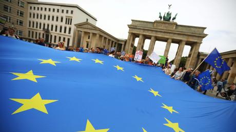Gegen den Brexit wurde auch in Berlin demonstriert - vergeblich.