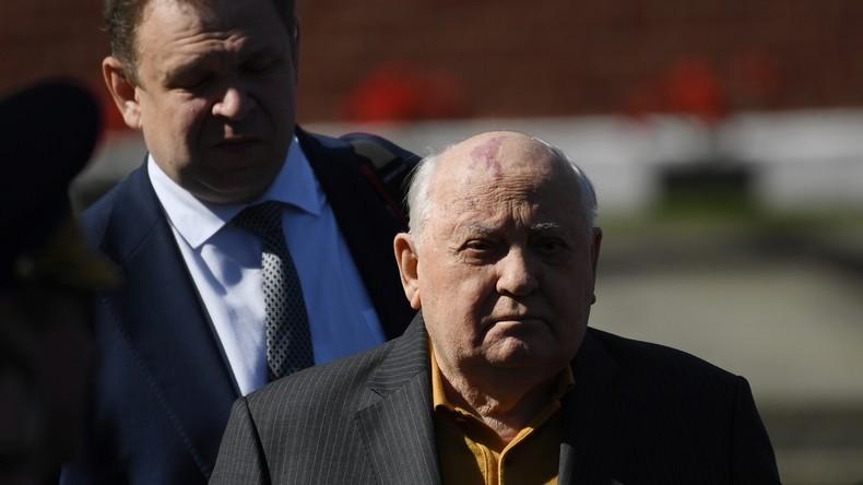 Gorbatschow: Selenskijs Worte über sowjetische Schuld am Zweiten Weltkrieg ist Beleidigung der Opfer