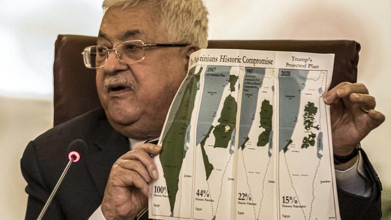 """Wegen Trumps Deal: Palästinenserpräsident Abbas kündigt """"Abbruch aller Beziehungen"""" zu den USA an"""