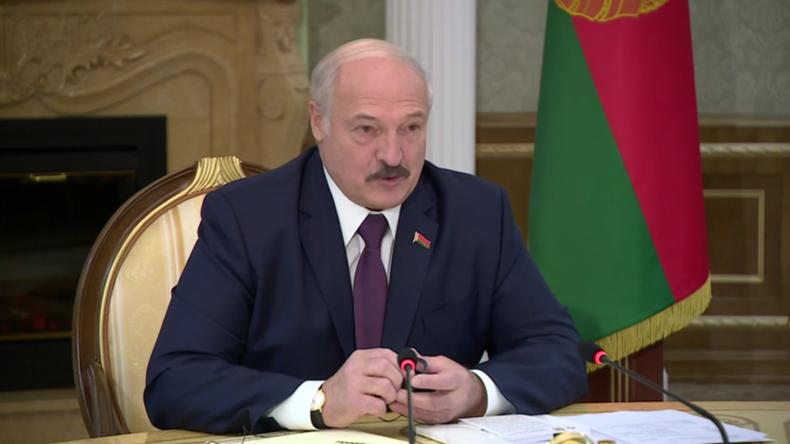 Minsk: Treffen zwischen Weißrusslands Präsidenten Lukaschenko und US-Außenminister Pompeo
