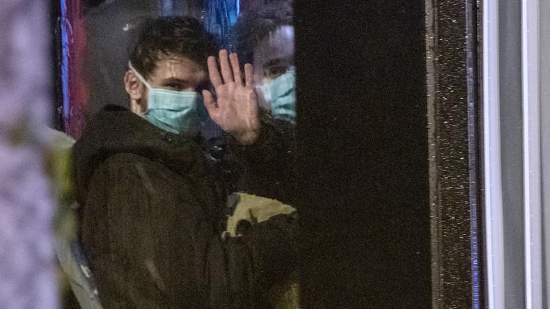 Coronavirus: Ein Verdachtsfall auf evakuiertem Flug von Wuhan nach Frankfurt