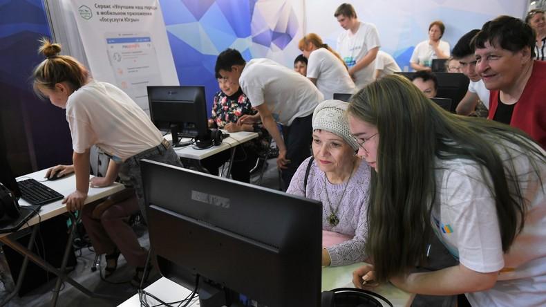 Soziale Digitalisierung Russlands: Wie Putin das Land vernetzen will (Video)