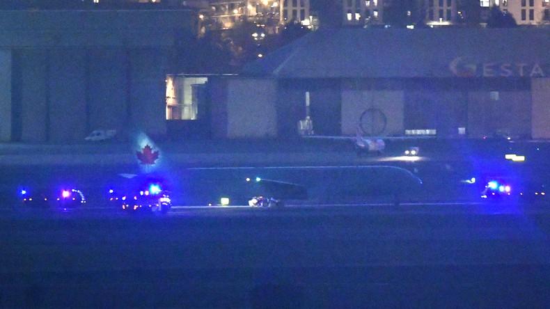Problemlose Notlandung kanadischer Maschine auf dem Flughafen Madrid